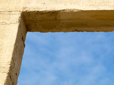 Window Frame at Rhyolite