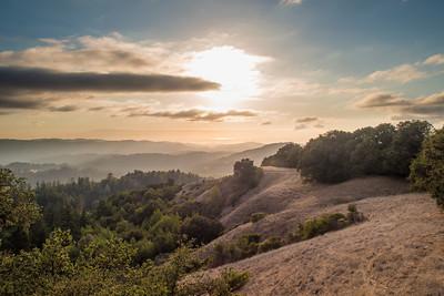 Afternoon landscape (pre-hike)